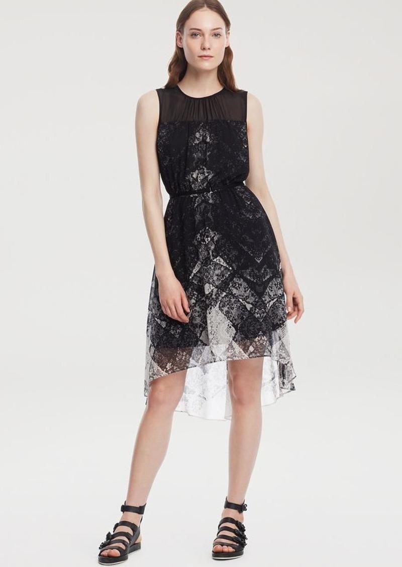 Kenneth Cole New York Becca Sleeveless Tie Waist Dress