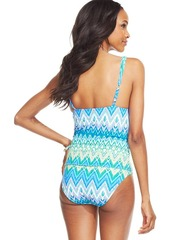 Kenneth Cole Reaction Zig-Zag Tankini Top