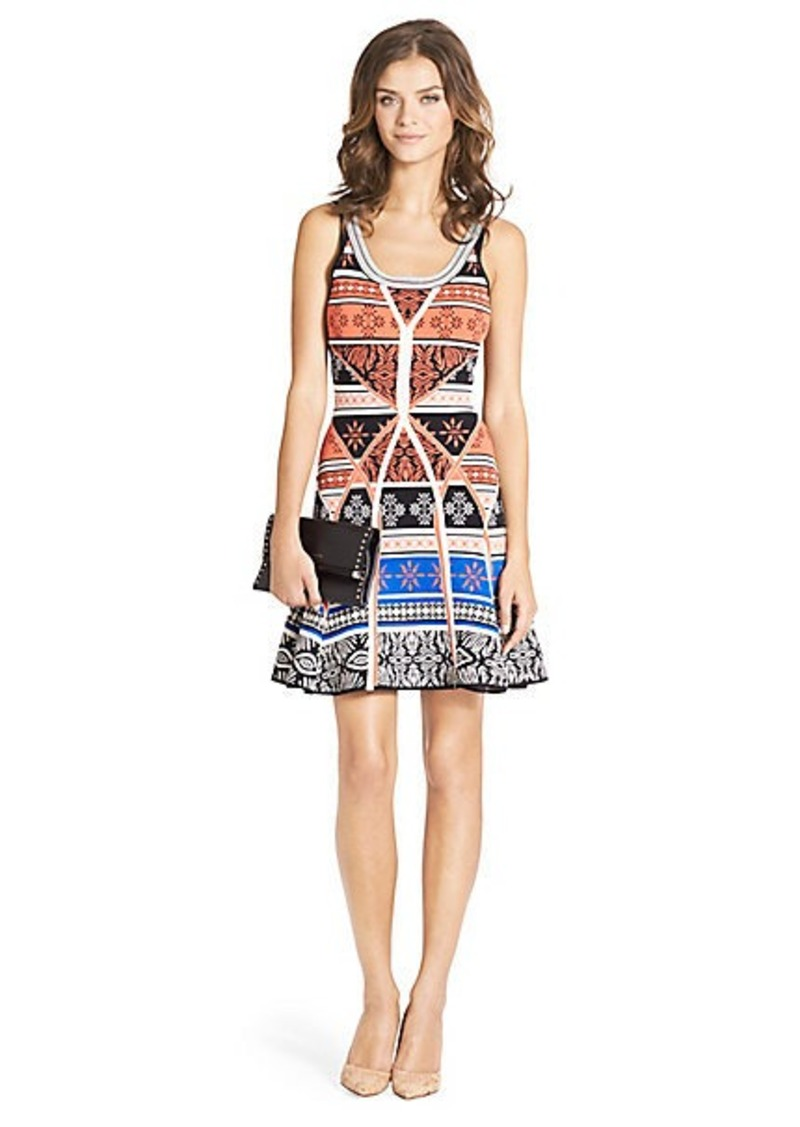 Diane Von Furstenberg Ilsa Knit Fit and Flare Dress