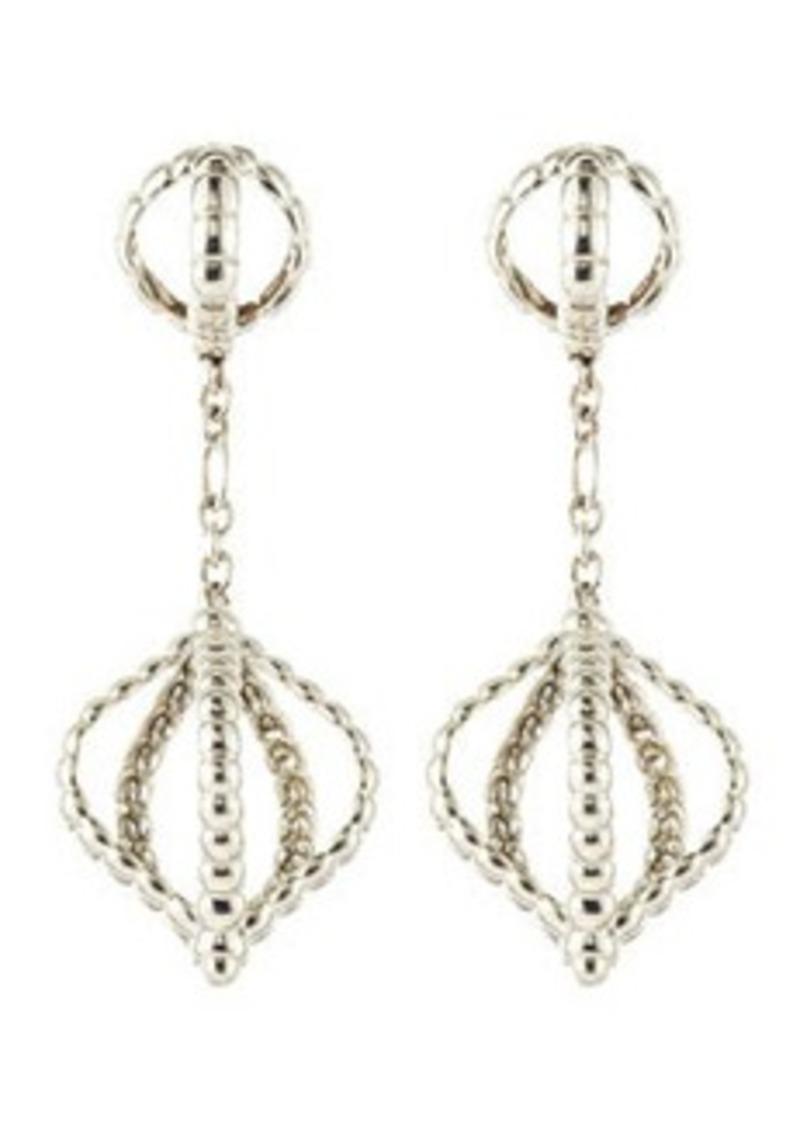 John hardy john hardy bedeg silver long drop earrings for John hardy jewelry earrings