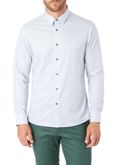 7 Diamonds After Thoughts Slim Fit Button-Up Performance Shirt