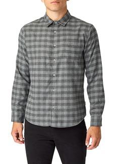 7 Diamonds Asher Trim Fit Flannel Shirt