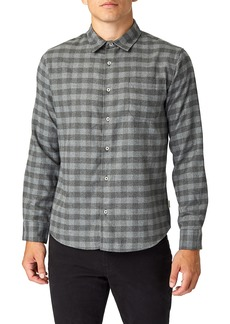 7 Diamonds Asher Trim Fit Flannel Shirt