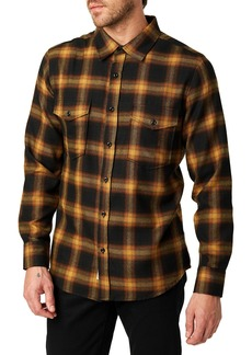7 Diamonds Banyan Trim Fit Plaid Sport Shirt