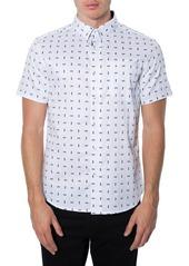 7 Diamonds 'Casual Party' Short Sleeve Woven Shirt