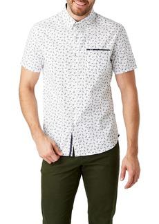 7 Diamonds Compendium Slim Fit Sport Shirt