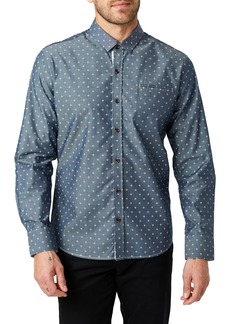 7 Diamonds Curtain Calls Slim Fit Sport Shirt