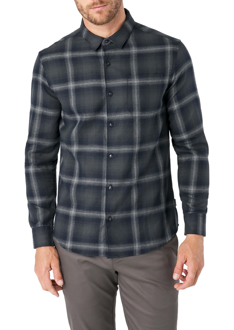7 Diamonds Dakota Slim Fit Check Button-Up Shirt