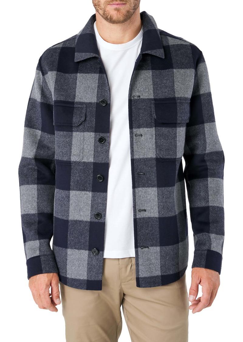 7 Diamonds Dundee Buffalo Check Shirt Jacket