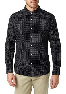 7 Diamonds Fashion Nugget Slim Fit Sport Shirt