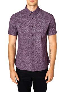 7 Diamonds Flashback Trim Fit Sport Shirt