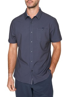7 Diamonds Flawless Short Sleeve Button-Up Shirt