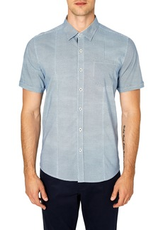 7 Diamonds Free Rein Trim Fit Sport Shirt