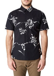 7 Diamonds Harvest Moon Trim Fit Sport Shirt
