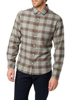 7 Diamonds Hunter Slim Fit Plaid Button-Up Shirt