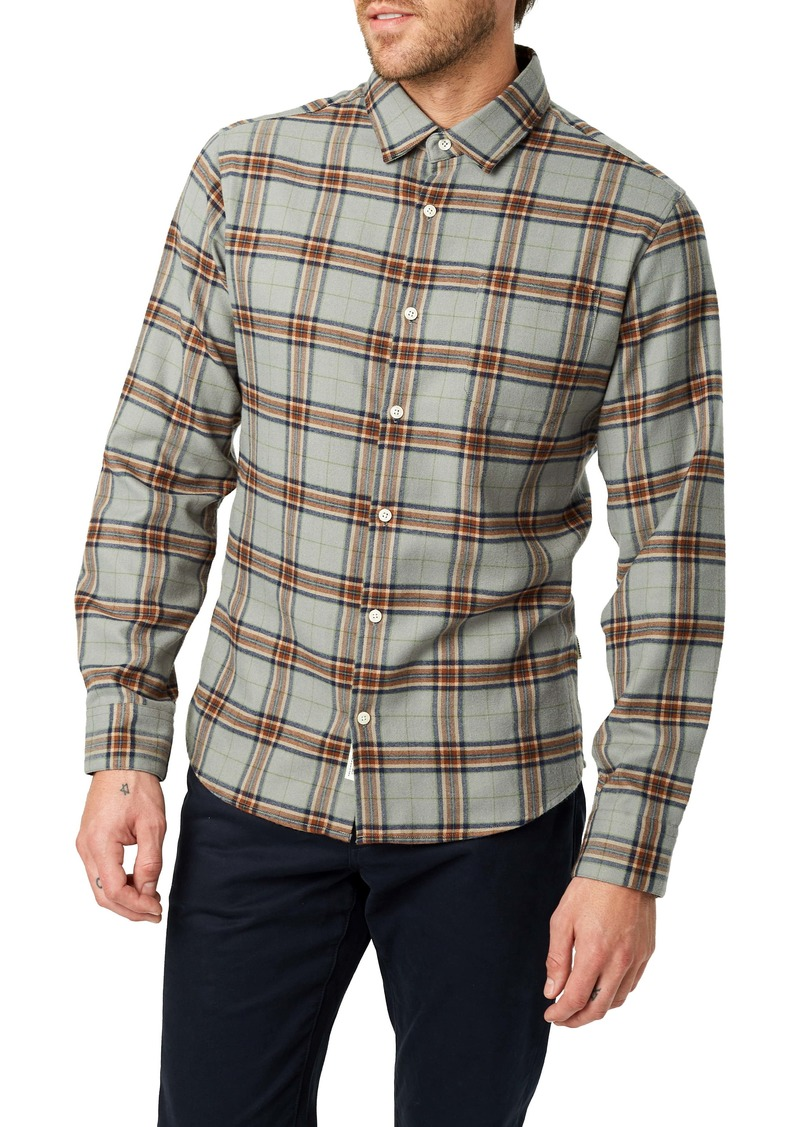7 Diamonds Hunter Slim Fit Plaid Button-Up Shirt
