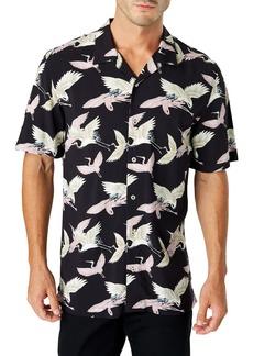 7 Diamonds Jade Palace Slim Fit Camp Shirt