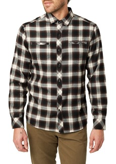 7 Diamonds Jasper Trim Fit Flannel Shirt