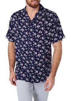 7 Diamonds Johnny B Goode Slim Fit Floral Camp Shirt
