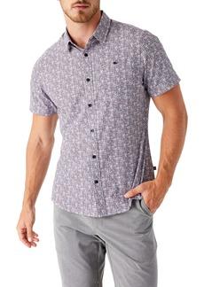7 Diamonds Latitude Short Sleeve Performance Button-Up Shirt