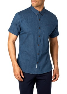 7 Diamonds Midnight Magic Trim Fit Sport Shirt