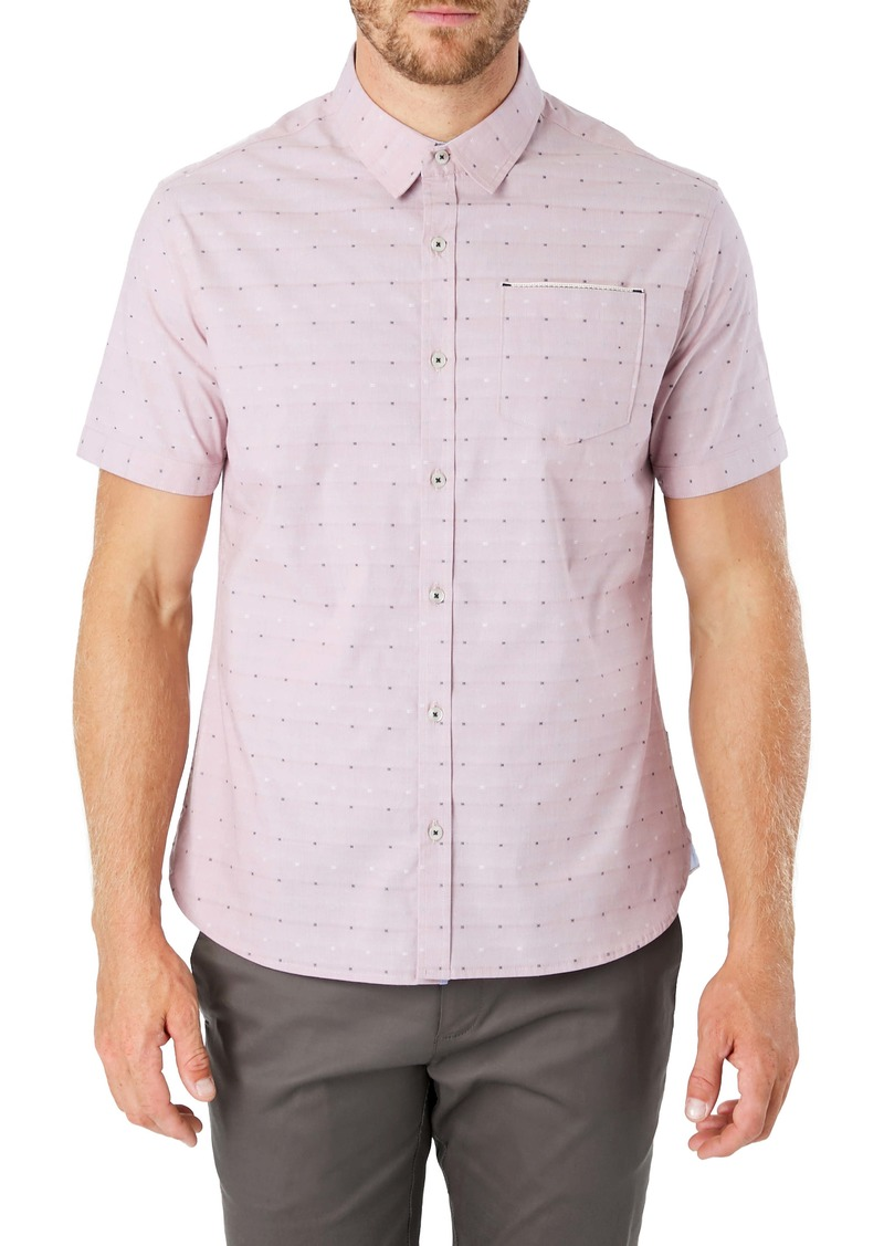 7 Diamonds Modular Mix Slim Fit Shirt