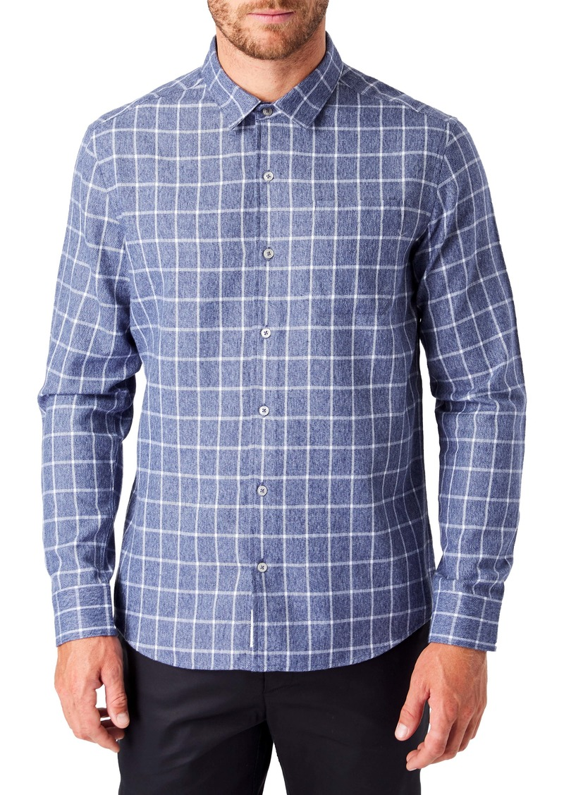7 Diamonds Montana Slim Fit Flannel Button-Up Shirt