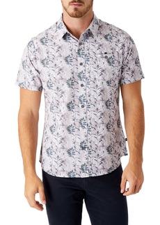 7 Diamonds Morning Rise Short Sleeve Performance Button-Up Shirt