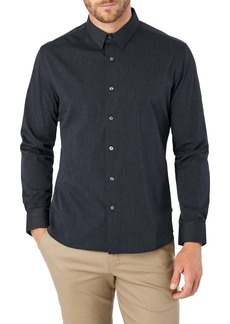 7 Diamonds Old Town Road Slim Fit Button-Up Shirt