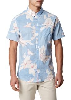 7 Diamonds Pastime Paradise Trim Fit Sport Shirt