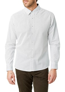 7 Diamonds Radio Mix Slim Fit Sport Shirt