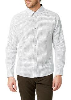 7 Diamonds Radio Mix Slim Fit Sport Shirt