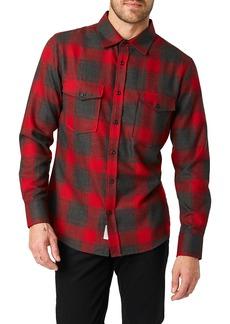 7 Diamonds Ren Slim Fit Check Sport Shirt