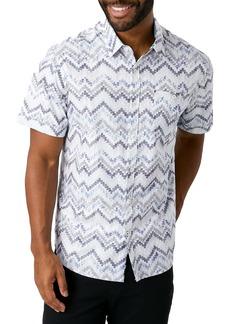7 Diamonds Sea Child Slim Fit Short Sleeve Button-Up Shirt