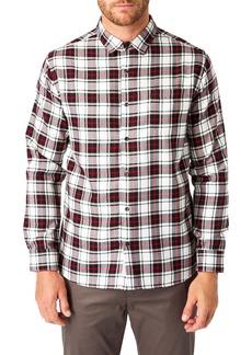 7 Diamonds Sequoia Plaid Button-Up Shirt