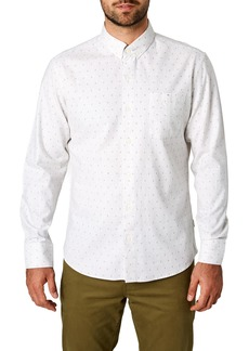 7 Diamonds Ska West Trim Fit Sport Shirt