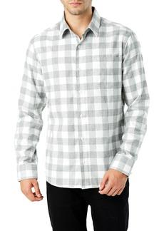 7 Diamonds Sparrow Trim Fit Flannel Shirt