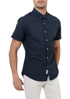 7 Diamonds Star Rider Trim Fit Sport Shirt