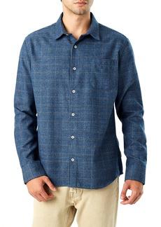 7 Diamonds Trim Fit Check Flannel Shirt