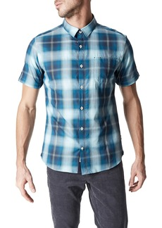 7 Diamonds Urban Spaceman Plaid Sport Shirt