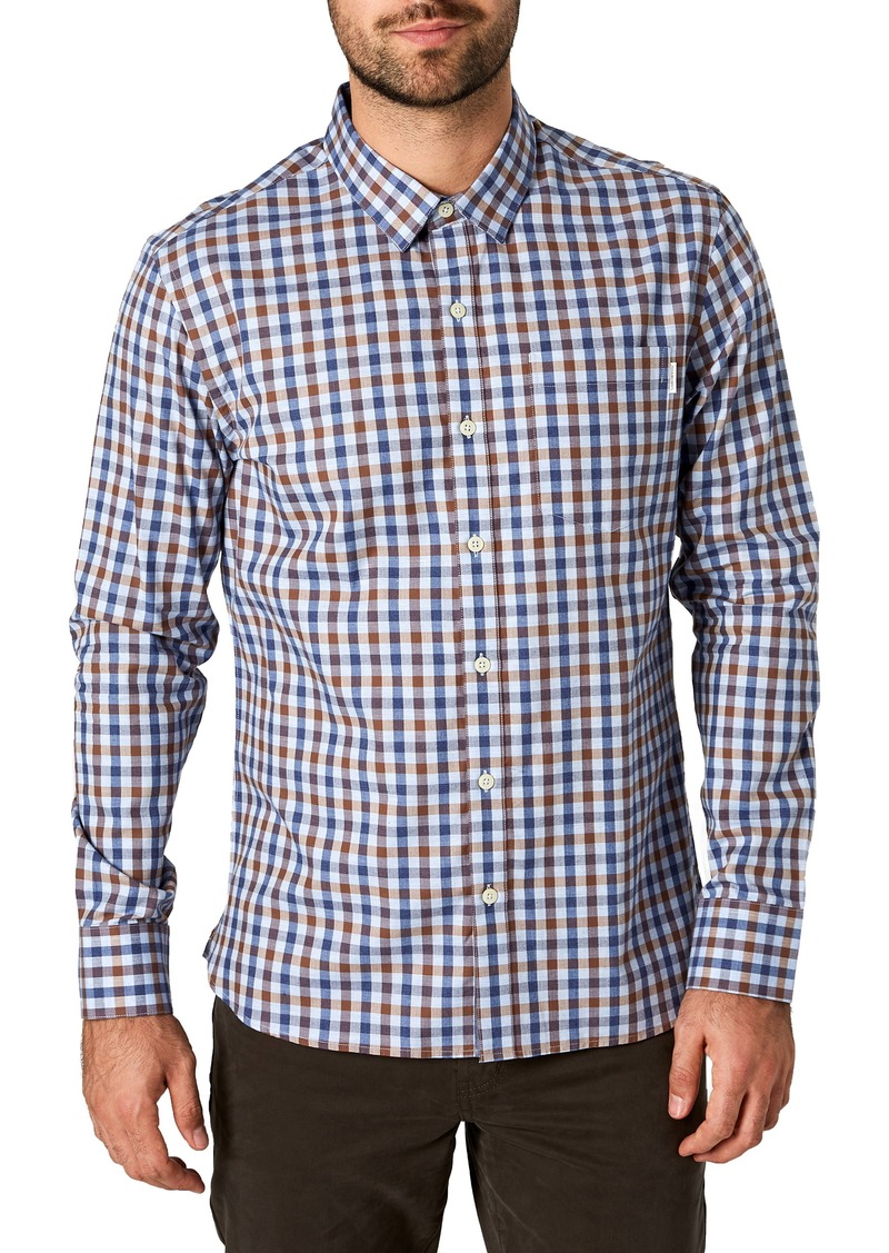 7 Diamonds Woven Sport Shirt