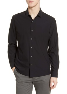 7 Diamonds Young Americans Slim Fit Button-Up Performance Shirt