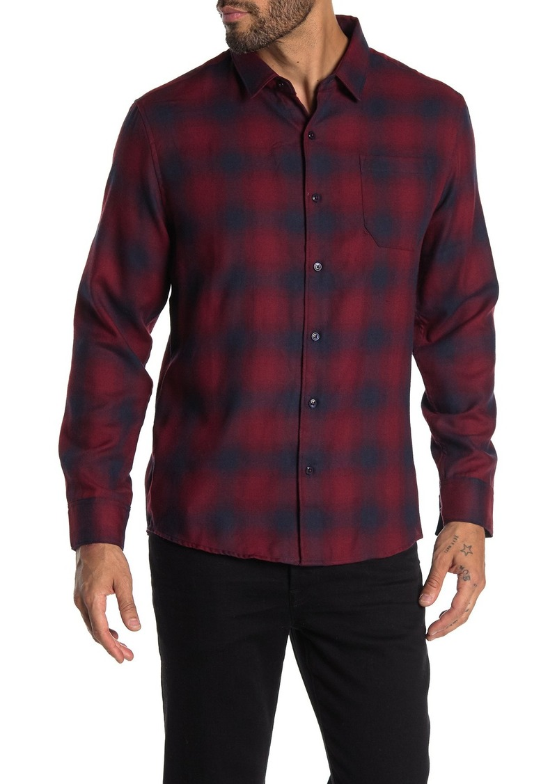 7 Diamonds Eyes On You Plaid Flannel Shirt