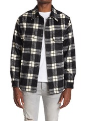 7 Diamonds Monte Plaid Flannel Shirt