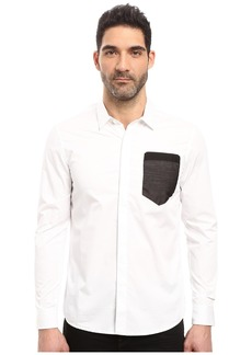 7 Diamonds Sheer Wit Long Sleeve Shirt