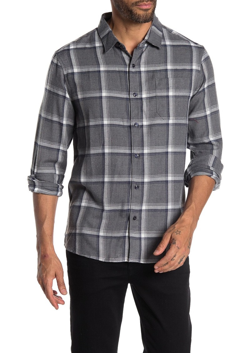 7 Diamonds Thought About You Plaid Flannel Shirt