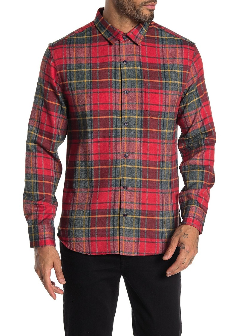 7 Diamonds Young Blood Plaid Flannel Shirt