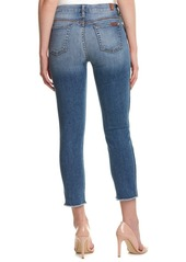 7 for All Mankind 7 For All Mankind Cropped High-W...
