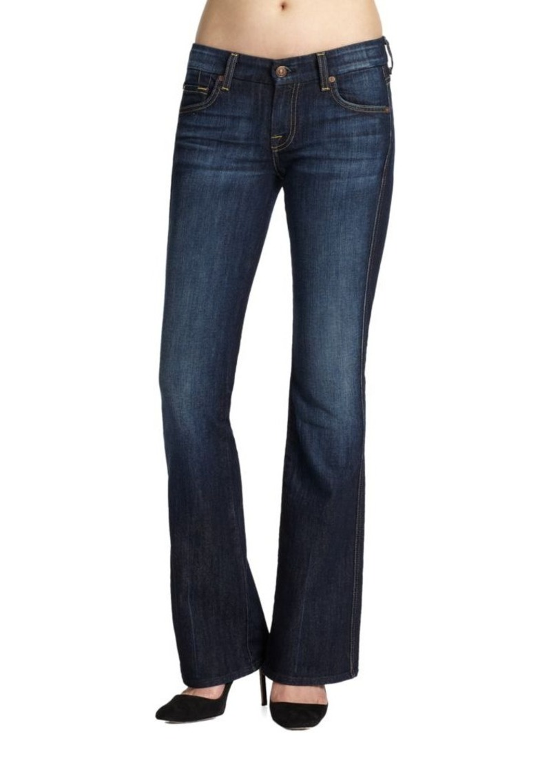 7 For All Mankind A-Pocket Bootcut Jeans