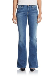 7 For All Mankind A Pocket Wide-Leg Jeans
